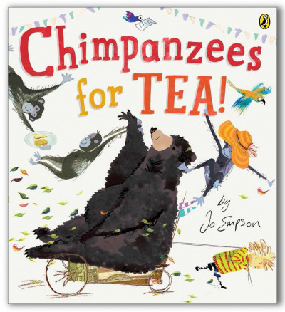 Chimpanzees for Tea front cover