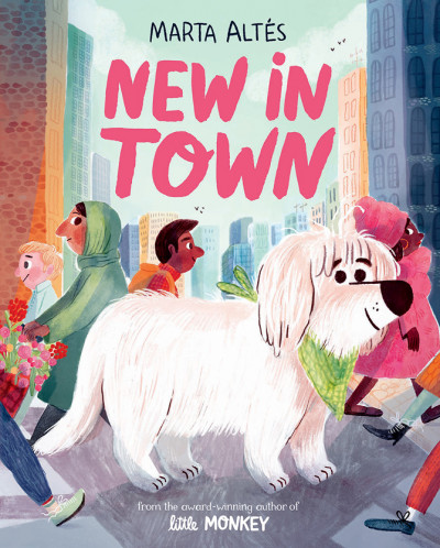 Front Cover of *New in Town* by Marta Altés