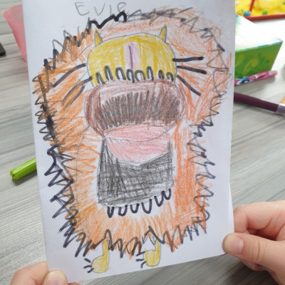 Inspired by Jo Empson, Evie from Greasby Infants sent us her picture