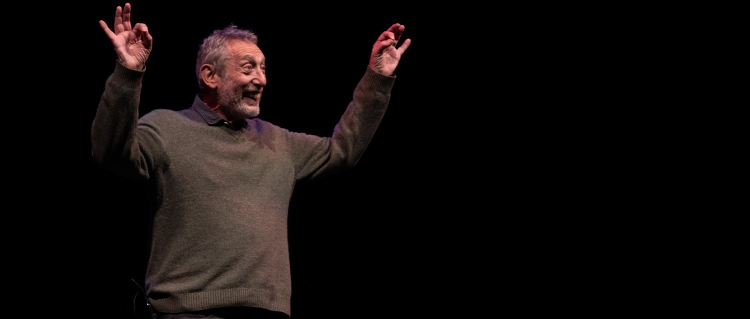 Michael Rosen, patron of The Children's Bookshow