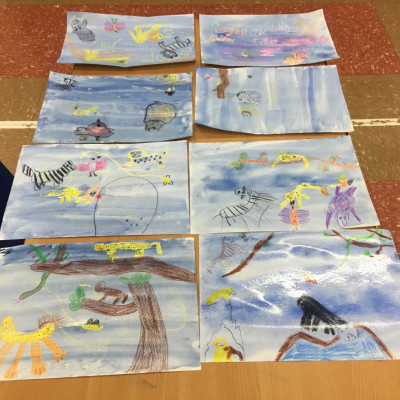 Kineton Primary - several pictures together. Wonderful!