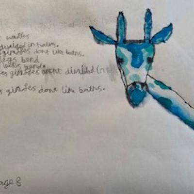 Abigail by Noah, age 8