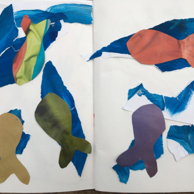 Whales by Sofia, age 8