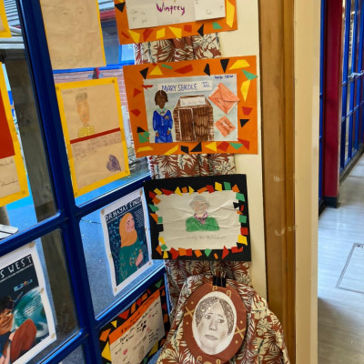 Display at Bangabandhu Primary