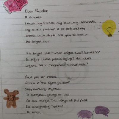 Mathilda's letter