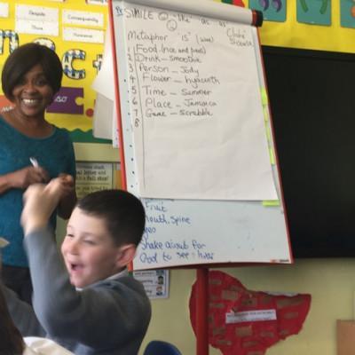 An in-school workshop