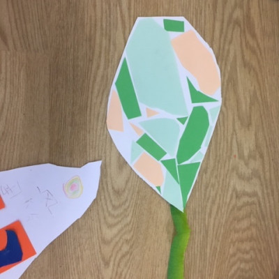 A kite from Clare and Yue's workshop