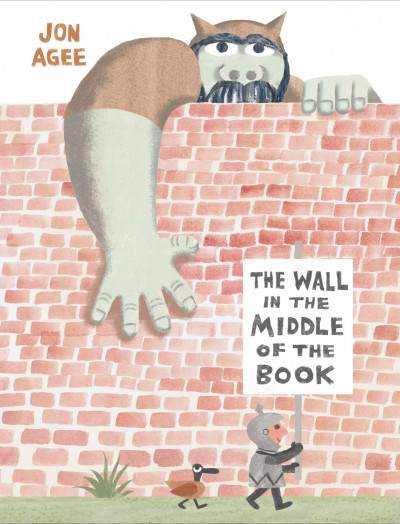 The cover of *The Wall in the Middle of the Book*