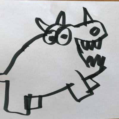 Jon's rhinoceros!