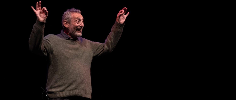 Michael Rosen, patron of The Children's Bookshow
