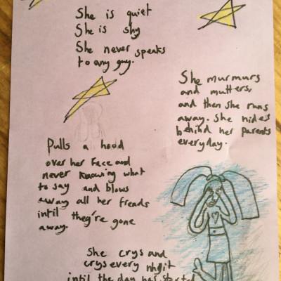 A lovely poignant poem by Sofia