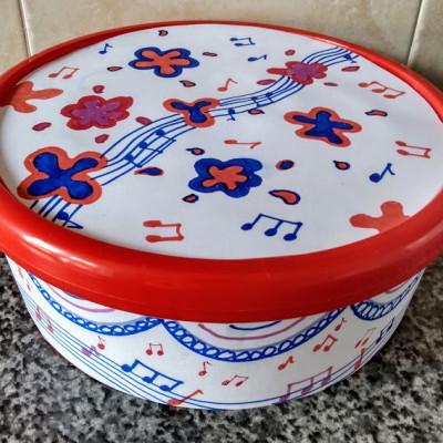 Plastic tub drum